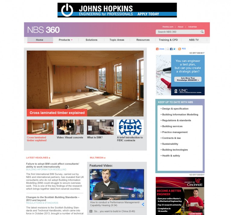 Industrial website design 2014 tom kinstrey for Industrial design sites